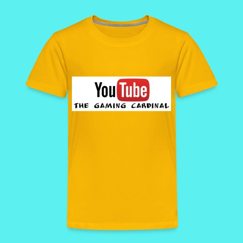 youtube logo - Toddler Premium T-Shirt