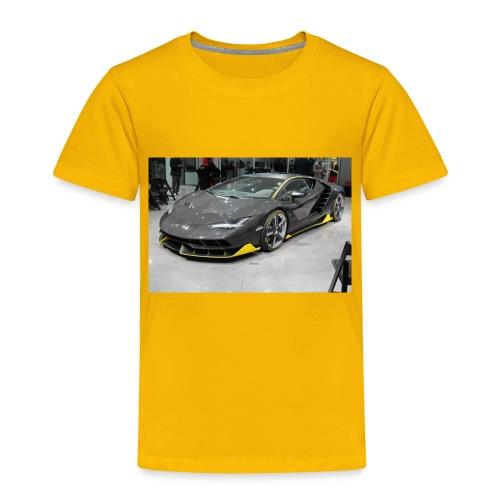 Lamborghini Centenario front three quarter e146585 - Toddler Premium T-Shirt