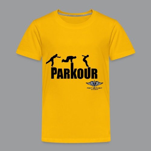 Parkour Text Kong Precision - Toddler Premium T-Shirt