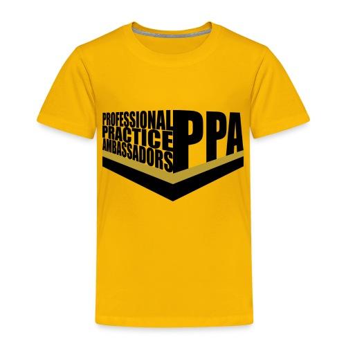 PPA logo 1 - Toddler Premium T-Shirt