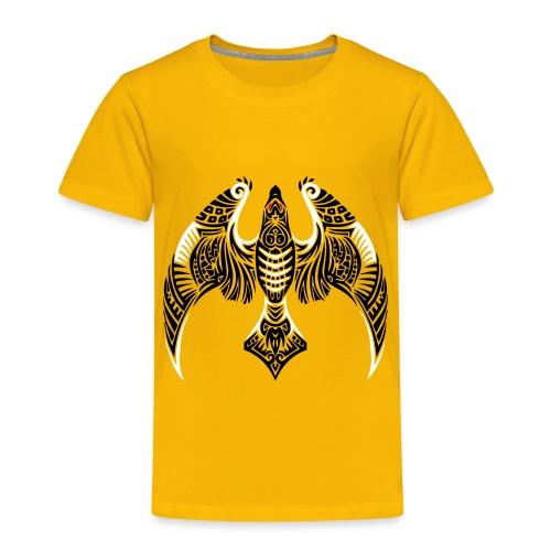 Hawk Totem - Toddler Premium T-Shirt