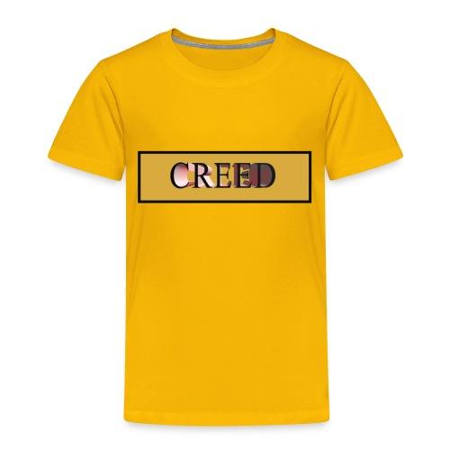 Creed - Gold Collection - Toddler Premium T-Shirt