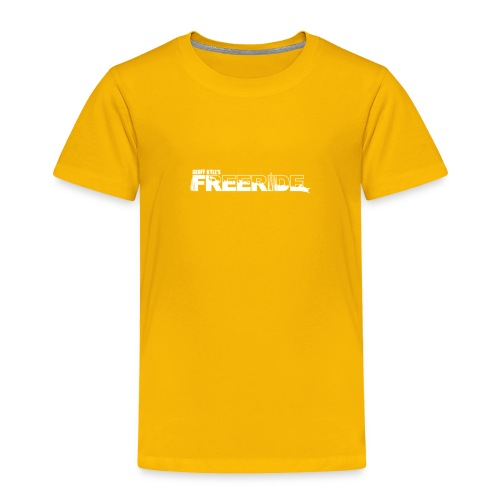 GK Freeride White Logo - Toddler Premium T-Shirt