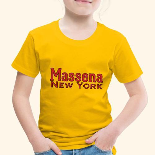 Massena New York - Toddler Premium T-Shirt