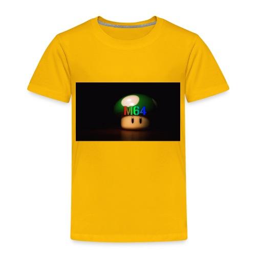 mushroom design - Toddler Premium T-Shirt