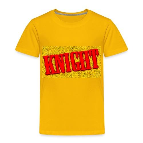 Red Knight Logo - Toddler Premium T-Shirt
