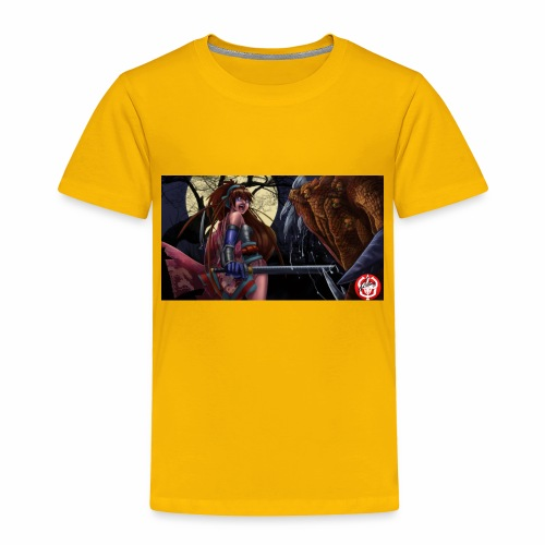 Anime Demon Hunter - Toddler Premium T-Shirt