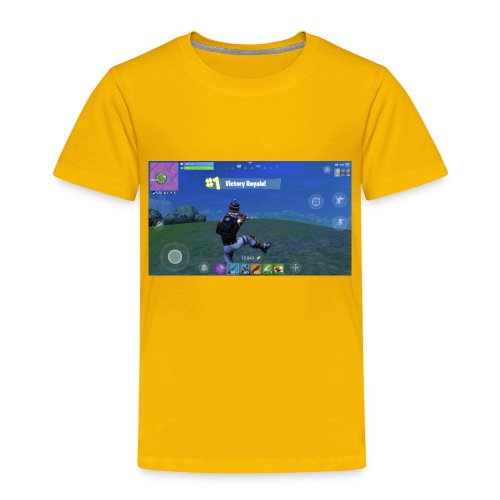 My First Win! - Toddler Premium T-Shirt