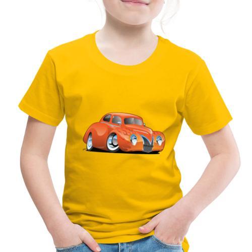 Custom Street Rod Vintage Car Cartoon - Toddler Premium T-Shirt