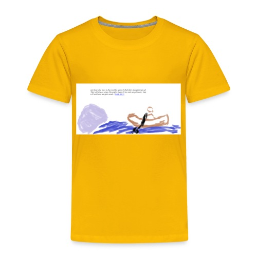 strenght in the Lord - Toddler Premium T-Shirt