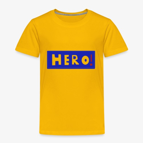 hero shirt - Toddler Premium T-Shirt