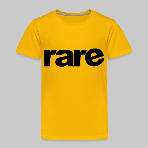 Quality Womens Tshirt 100% Cotton with Rare - Toddler Premium T-Shirt