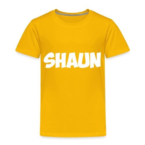 Shaun Logo Shirt - Toddler Premium T-Shirt