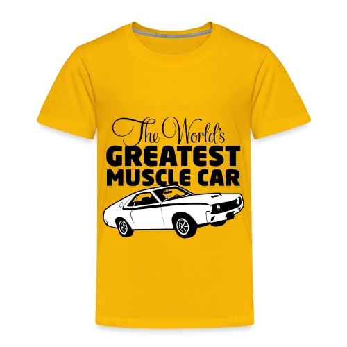 Greatest Muscle Car - Javelin - Toddler Premium T-Shirt