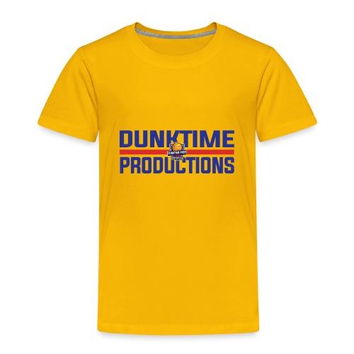 DUNKTIME Retro logo - Toddler Premium T-Shirt