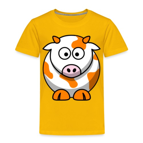 Orange Cow - Toddler Premium T-Shirt