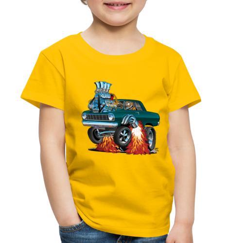 Sixties American Classic Muscle Car Cartoon - Toddler Premium T-Shirt