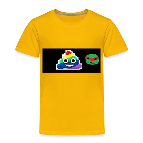 ninja poop - Toddler Premium T-Shirt