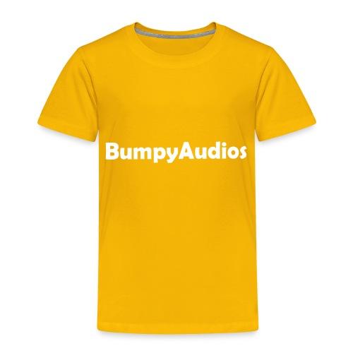 BumpyLogo - Toddler Premium T-Shirt