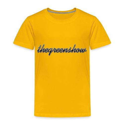 TheGreeShow Logo - Toddler Premium T-Shirt