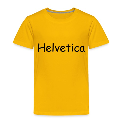Swiss Font Revolution - Toddler Premium T-Shirt