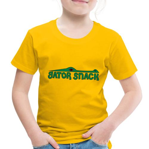 Gator Snack - Toddler Premium T-Shirt