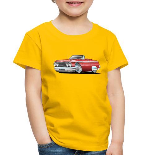 Sixties American Classic Car Convertible Cartoon - Toddler Premium T-Shirt