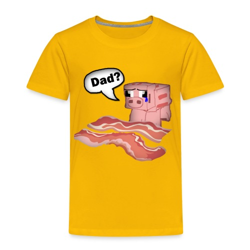 Bacon Tee Shirt - Toddler Premium T-Shirt