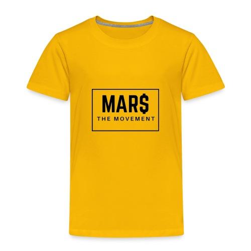 MAR$ Orginal White T-Shirt - Toddler Premium T-Shirt