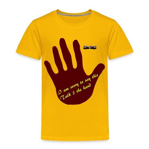 Busyhandz dynamics white kid's long sleeve T. shir - Toddler Premium T-Shirt