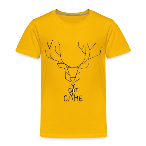 Stag GOT GAME - Toddler Premium T-Shirt