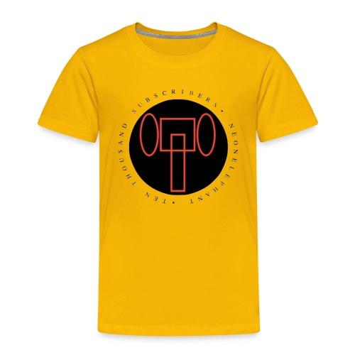 TEN THOUSAND SUBSCRIBERS - Toddler Premium T-Shirt