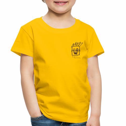 Uncle Knackers Self Portrait. - Toddler Premium T-Shirt