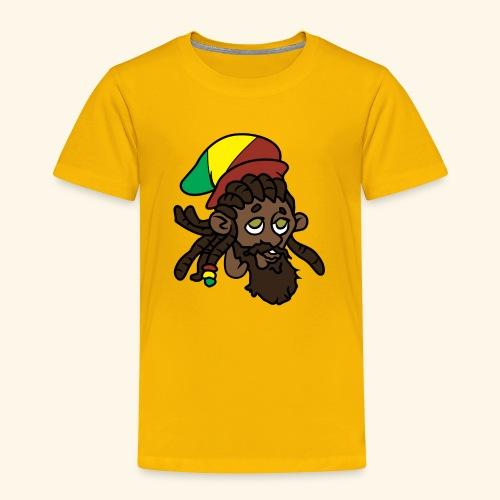 Rasta Ricky Head Logo - Toddler Premium T-Shirt