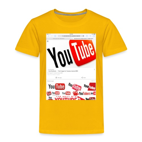 Brady Allaby Vlogs - Toddler Premium T-Shirt