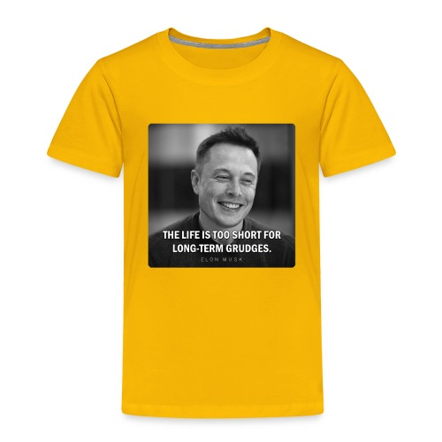 Elon Musk - Toddler Premium T-Shirt