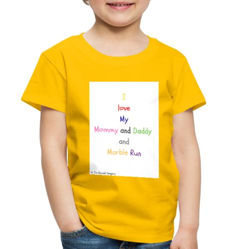 Hi I'm Ronald Seegers Collection-What I love - Toddler Premium T-Shirt