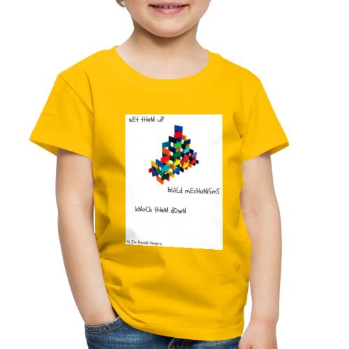 Hi I'm Ronald Seegers Collection-dominoes - Toddler Premium T-Shirt