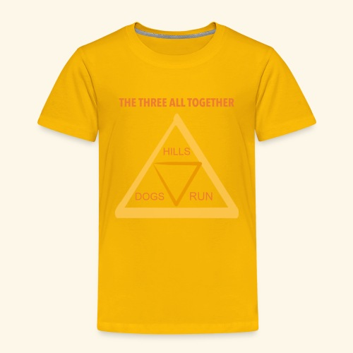 Run4Dogs Triangle - Toddler Premium T-Shirt