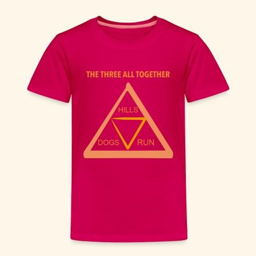 Run4Dogs Triangle - Toddler Premium T-Shirt