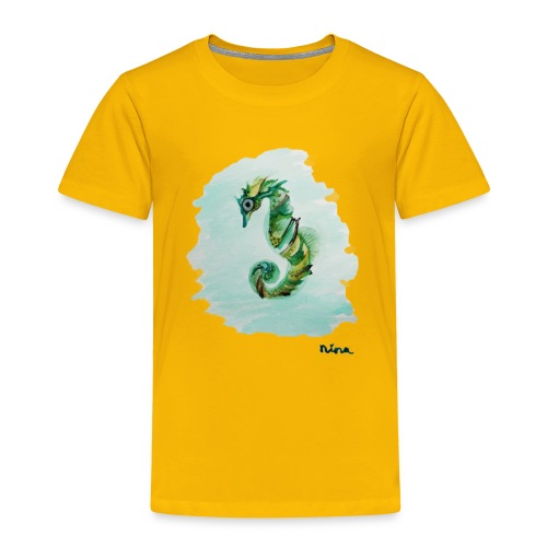 Sea Horse - Toddler Premium T-Shirt