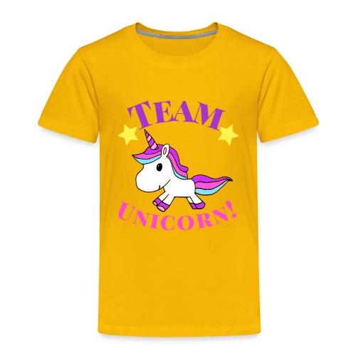 Team Unicorn! - Toddler Premium T-Shirt