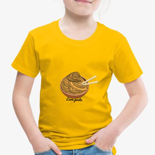 love pasta - Toddler Premium T-Shirt
