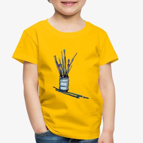 Paint Brushes - Toddler Premium T-Shirt