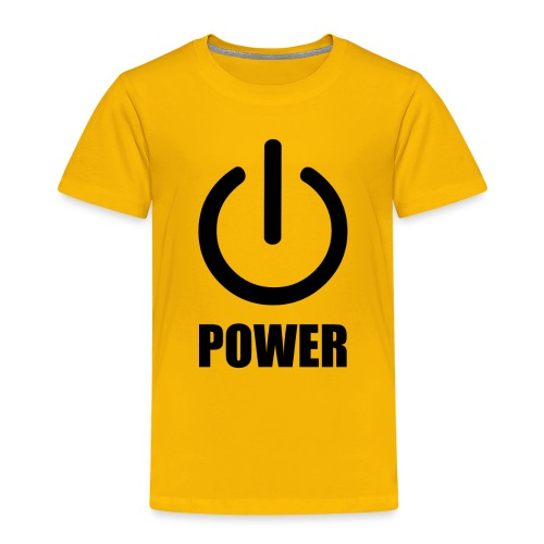 Power - Toddler Premium T-Shirt