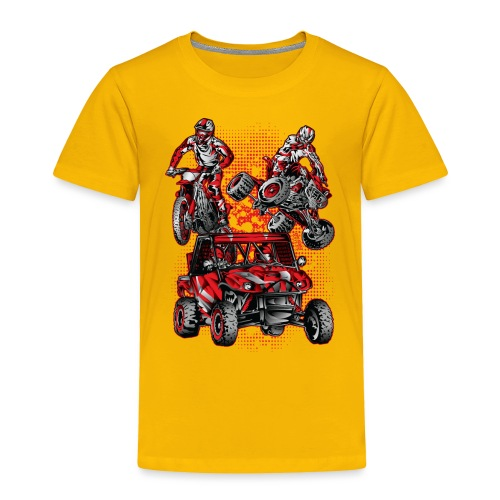 Extreme Stunts Motorsports - Toddler Premium T-Shirt