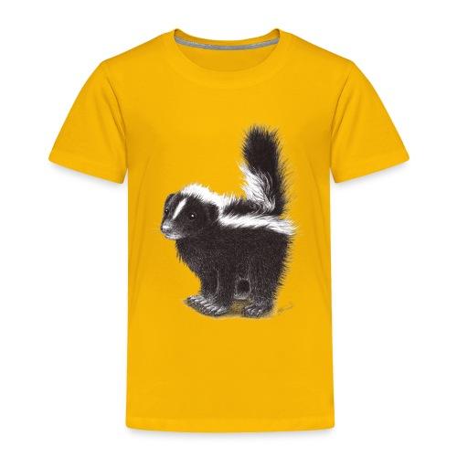 Cool cute funny Skunk - Toddler Premium T-Shirt
