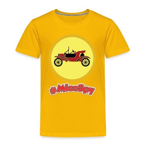 Mr. Toad Motorcar Explorer Badge - Toddler Premium T-Shirt