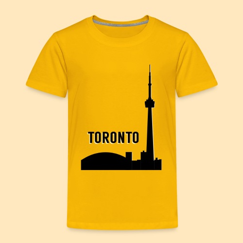 Toronto Skyline - Toddler Premium T-Shirt