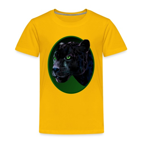 Big Black Jaquar - Toddler Premium T-Shirt